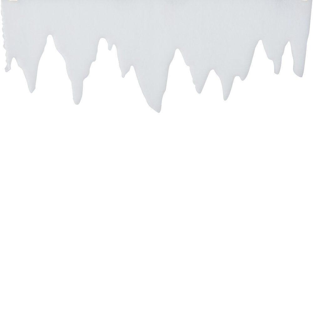 Frise enneigée L 99 x H 30 cm épaisseur de 2cm (photo)