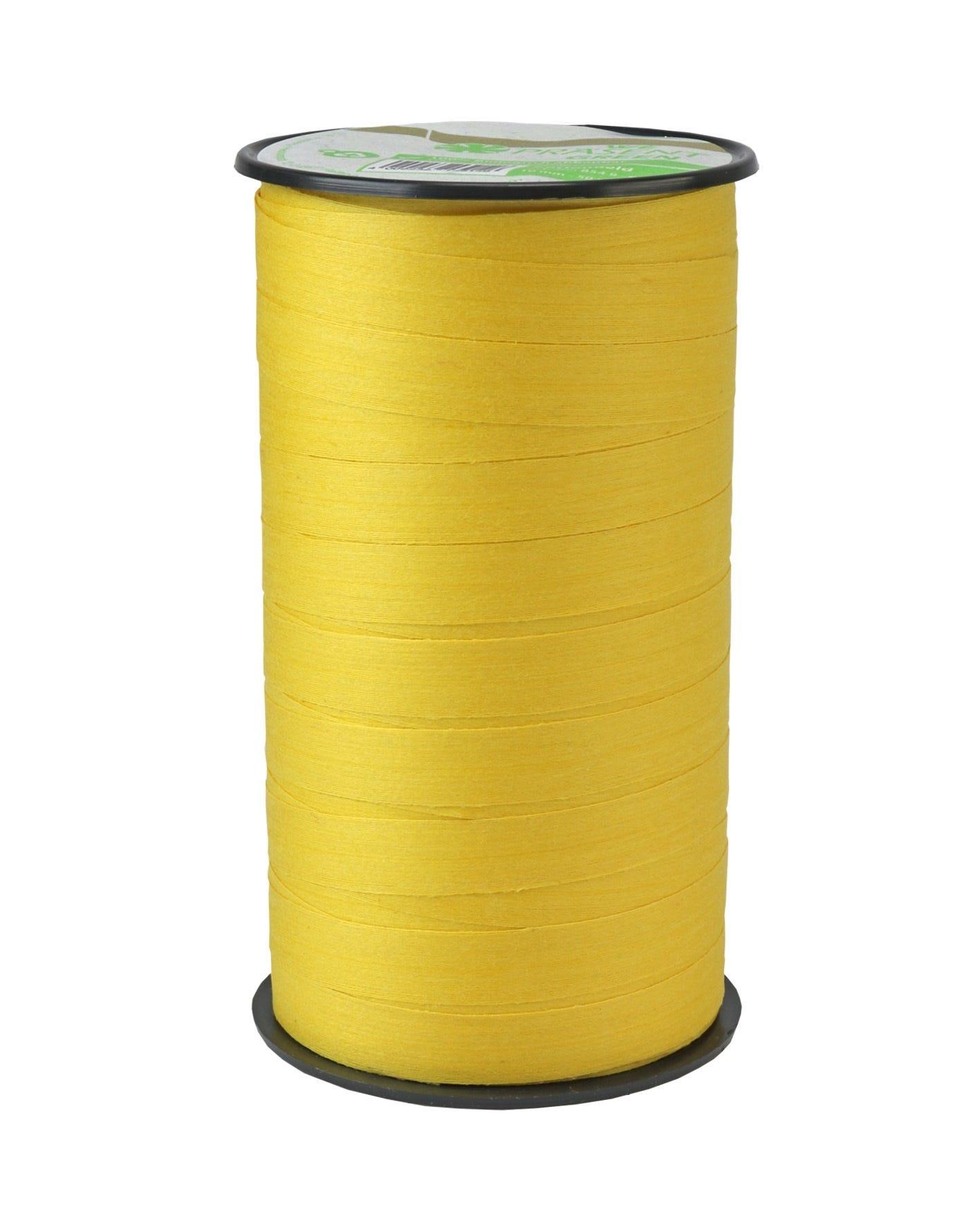 Bolduc mat 10 mm x 50m jaune