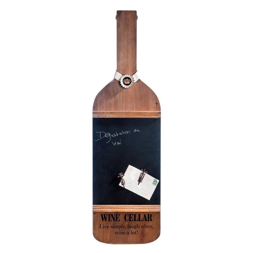 Ardoise bouteille L.30 x H.130cm (photo)