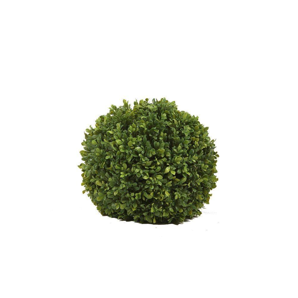 Boule de buis verte  Ø 35cm (photo)