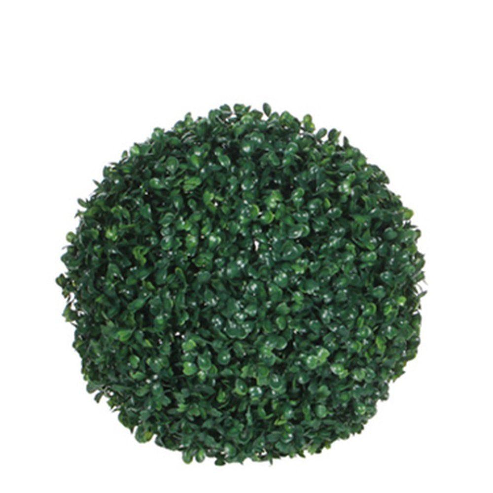 Boule de buis verte Ø 22cm (photo)