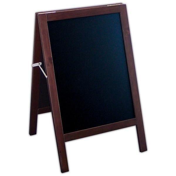 Chevalet New authentique ardoise noire 50 x 46,5 x 80 cm (photo)