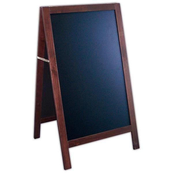 Chevalet new authentique wenge en chêne ardoise noire 65 x 66 x 115 cm