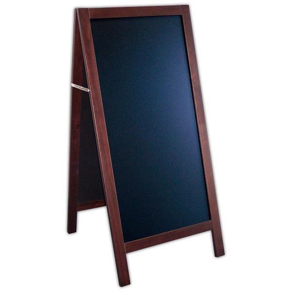 Chevalet New authentique ardoise noire 60 x 130 cm (photo)