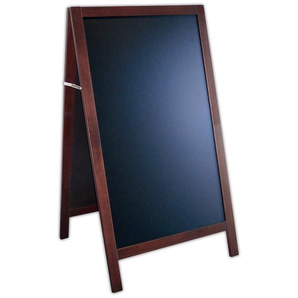 Chevalet new authentique ardoise noire 75 x 135 cm