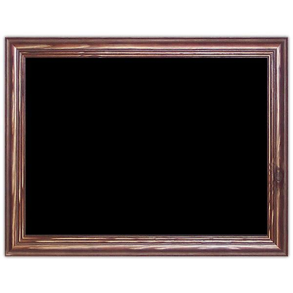 Ardoise noire vierge New authentique 40 x 30 cm (photo)