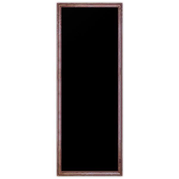 Ardoise noire vierge New authentique 50 x 140 cm (photo)