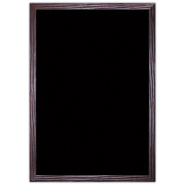 Ardoise noire vierge Wenge 60 x 90 cm (photo)
