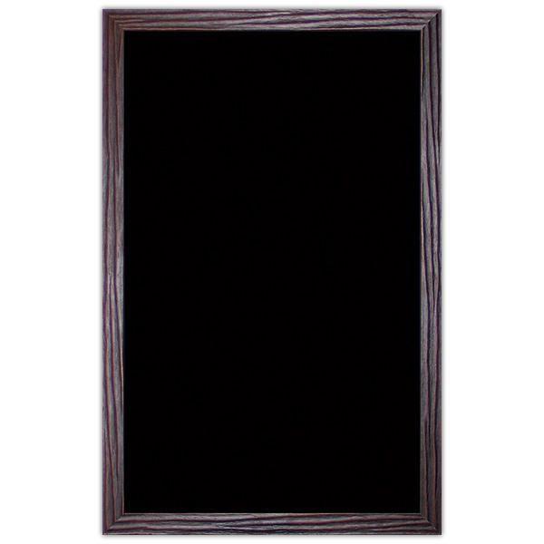 Ardoise noire vierge Wenge 50 x 80 cm (photo)