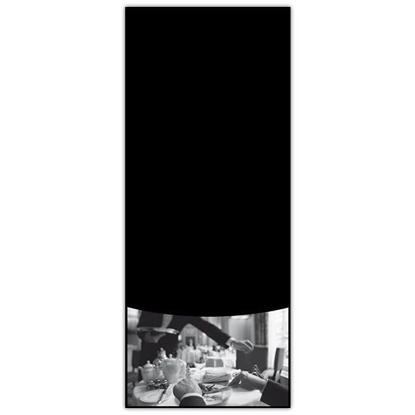 Panneau bistro avec fil nylon 40 x 97 cm (photo)