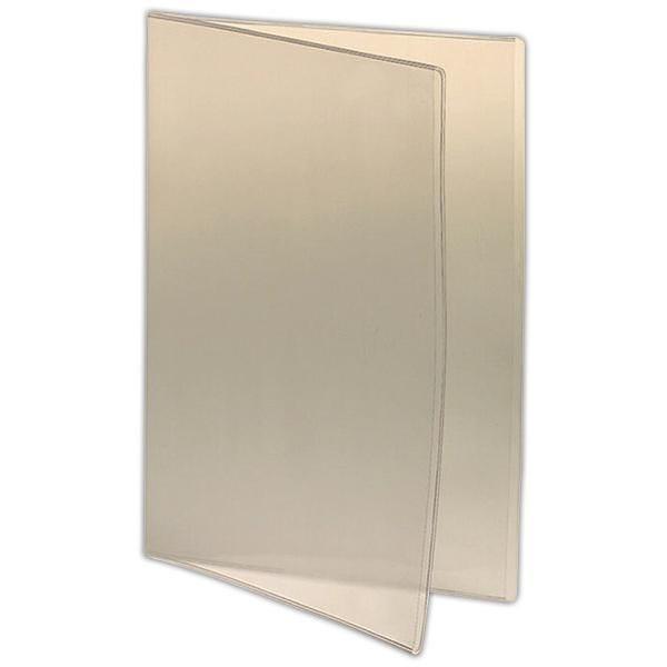 Intercalaires 2 volets pour protège-menu A4 23,5 x 31,6 cm Par 3 (photo)