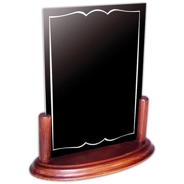 Accessoire de table Info'bois A4 ardoise 21x29,7 cm (photo)