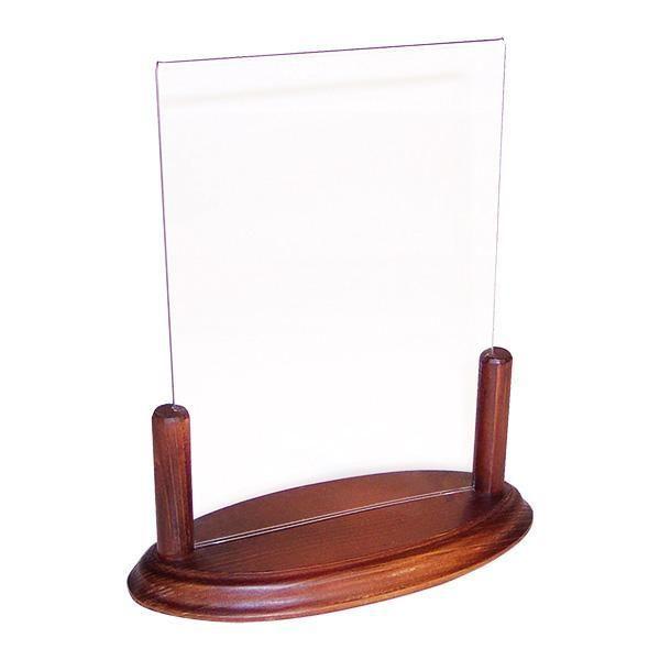 Accessoire de table info'bois a5 plexi 22x15 cm (photo)