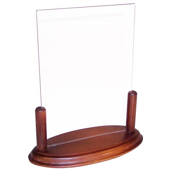 Accessoire de table info'bois a4 plexi 21x29.7 cm (photo)