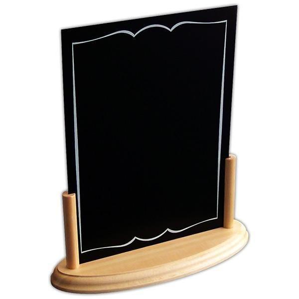 Accessoire de table Info'bois nature ardoise A5 (photo)
