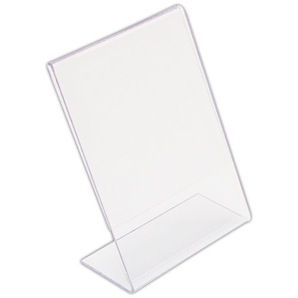 Chevalet transparent verticaux 7 x 5 cm par 10 (photo)