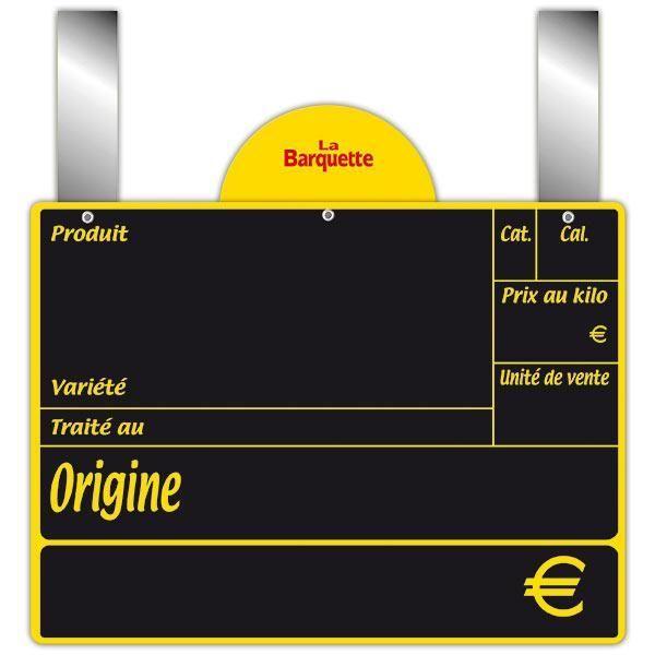 Ardoise variété avec disque conditionnement et pattes 20 x 15 cm par 10 (photo)