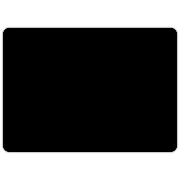 Etiquette ardoise noires vierge 7 x 5 cm par 10 (photo)