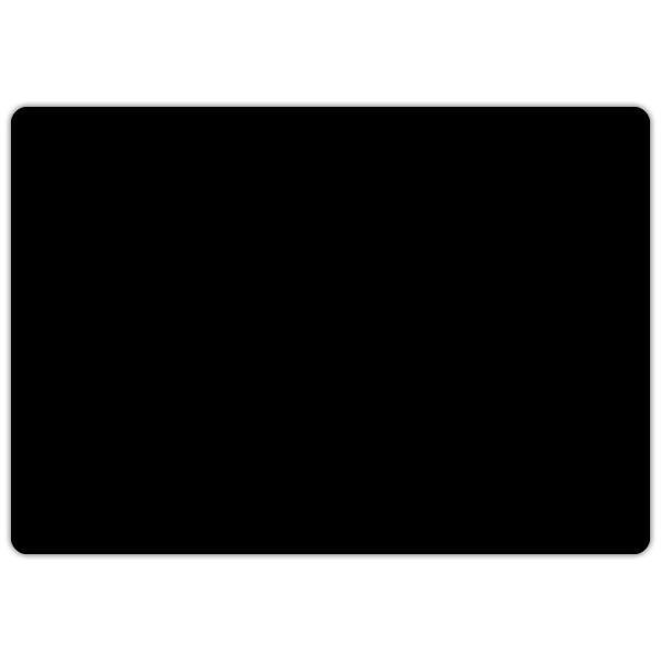 Etiquette ardoise noire vierge 10 x 7 cm par sachet de 10 (photo)