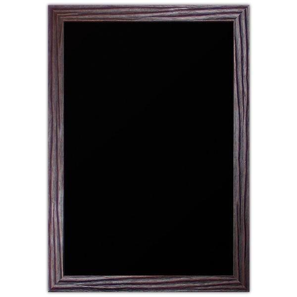 Ardoise Wengé vierge noire 40 x 60 cm (photo)