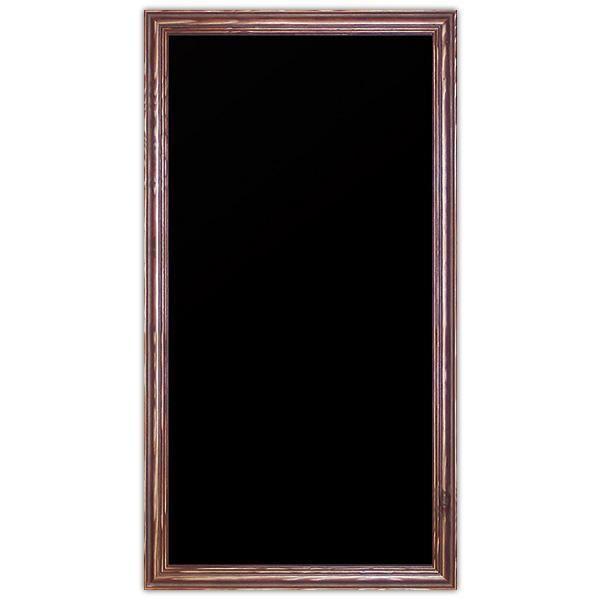 Ardoise noire vierge New authentique 30 x 60 cm (photo)
