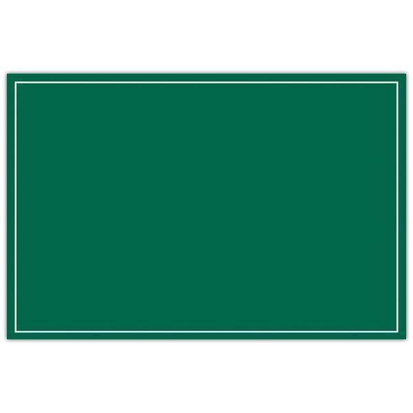 Etiquette autrefois ardoisine verte liseré 1 face 8 x 12 cm par 10 (photo)