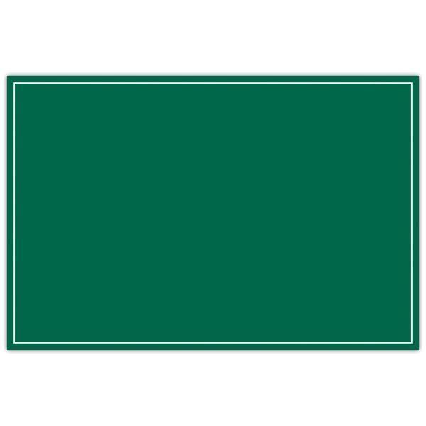 Etiquette ardoisine verte à liseré 10 x 15 cm par 10 (photo)