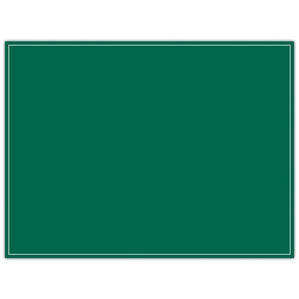 Etiquette ardoisine verte à liseré 20 x 15 cm par 10 (photo)