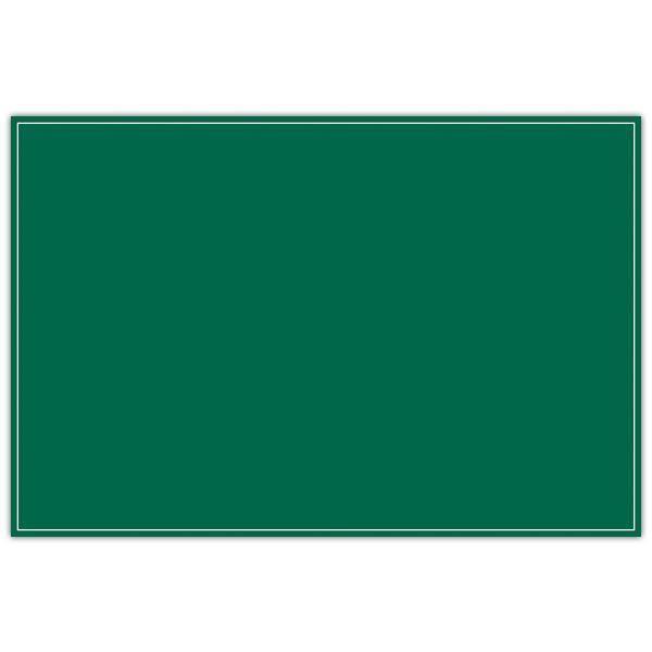 Etiquette ardoisine verte à liseré 24 x 16 cm par 10 (photo)