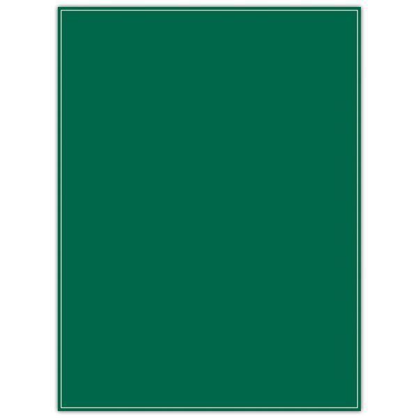 Etiquette ardoisine verte à liseré 24 x 32 cm par 10 (photo)