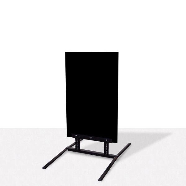 Mini info trottoir noir (photo)