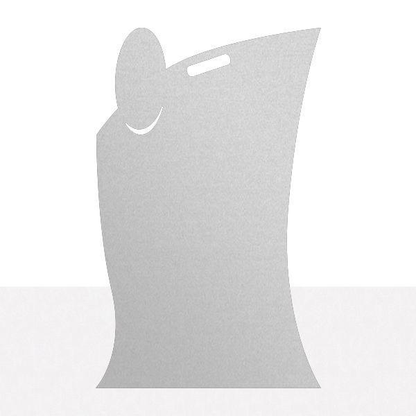 Panneau SERVICE dibond gris métallisé 50 x 80 cm (photo)