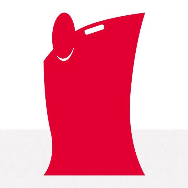 Panneau SERVICE plexi rouge 50 x 80 cm (photo)