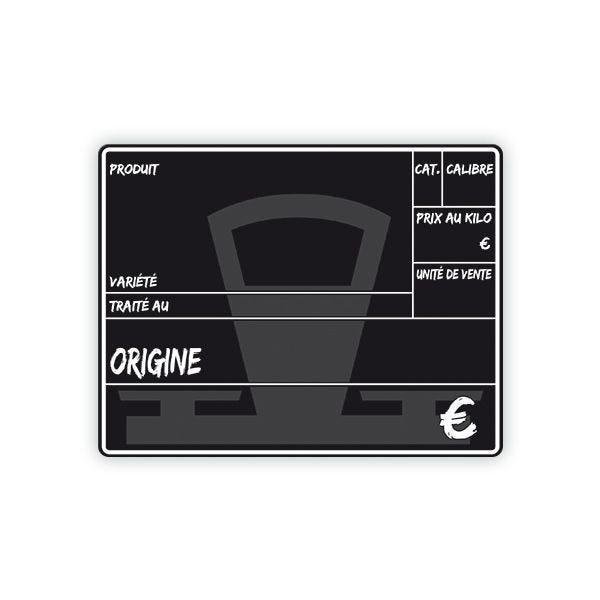 Etiquette primeur 15 x 10 cm - par 10 (photo)