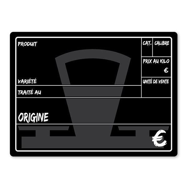 Etiquette balance 20 x 15 cm - par 10 (photo)