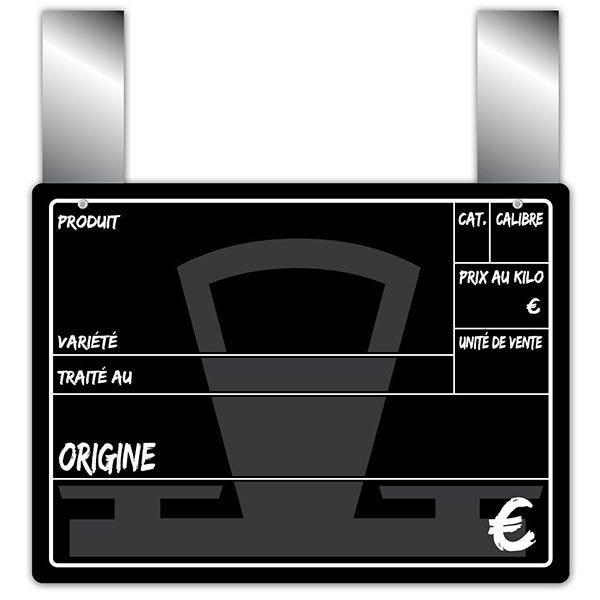 Etiquette balance 20 x 15 cm à pattes - par 10 (photo)