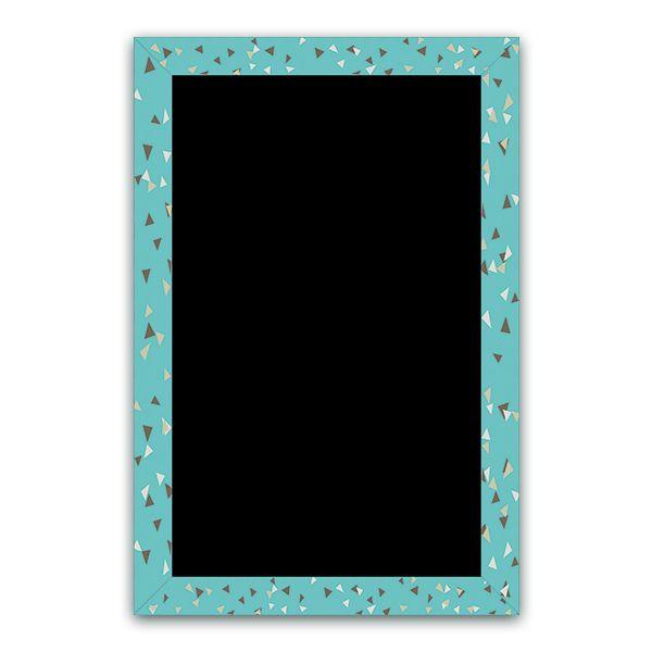 Ardoise cubique turquoise 40 x 60 - par 3 (photo)