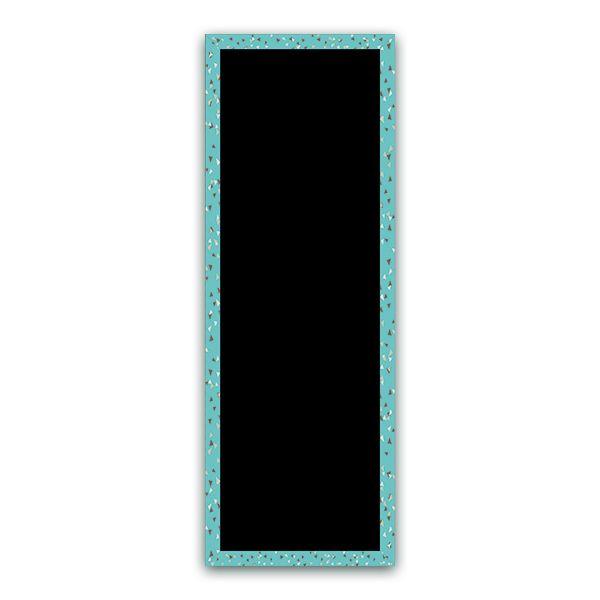 Ardoise cubique turquoise 50 x 140 - par 3 (photo)