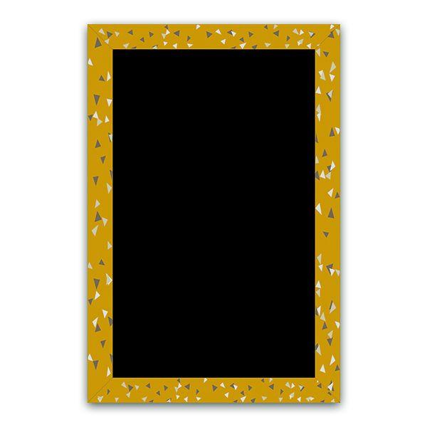 Ardoise cubique moutarde 40 x 60 - par 3 (photo)