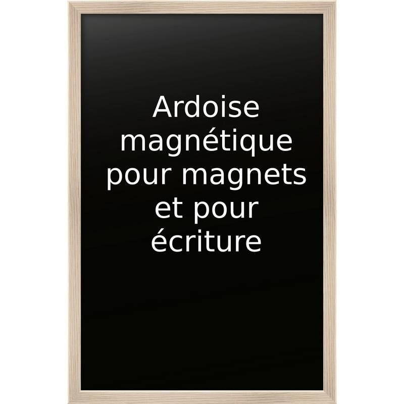 Ardoise nature 60 x 90 cm base magnétique - par 5