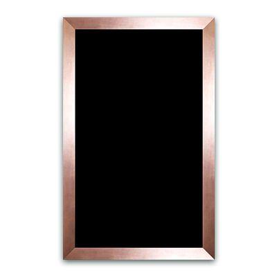 Ardoise noire vierge bronze 50x80 cm - par 5