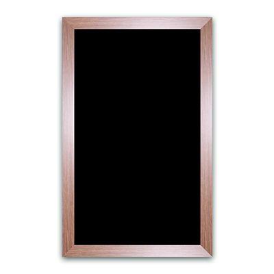 Ardoise noire vierge chêne 50x80 cm - par 3