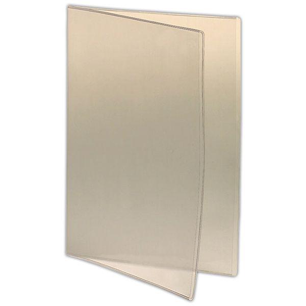 Intercalaires 2 volets pour protège-menu a4 23,5 x 31,6 cm - par 9