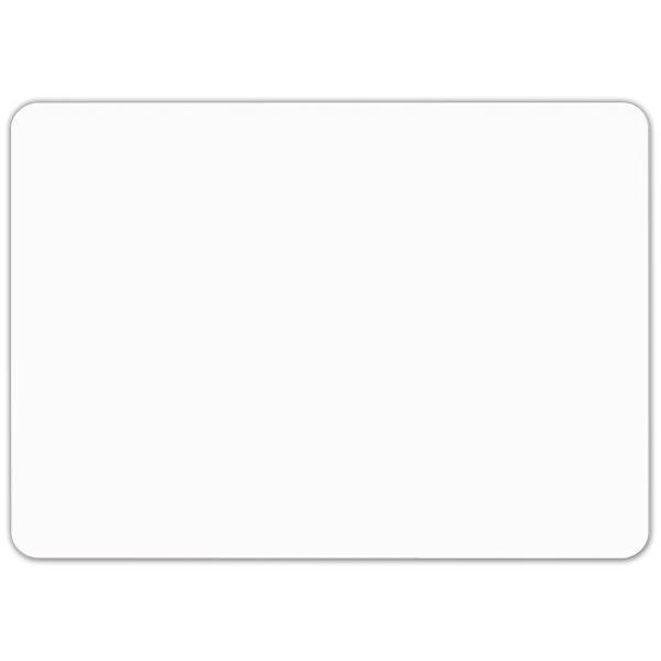 Etiquette blanche vierge sans pique 7 x 5 cm - par 30