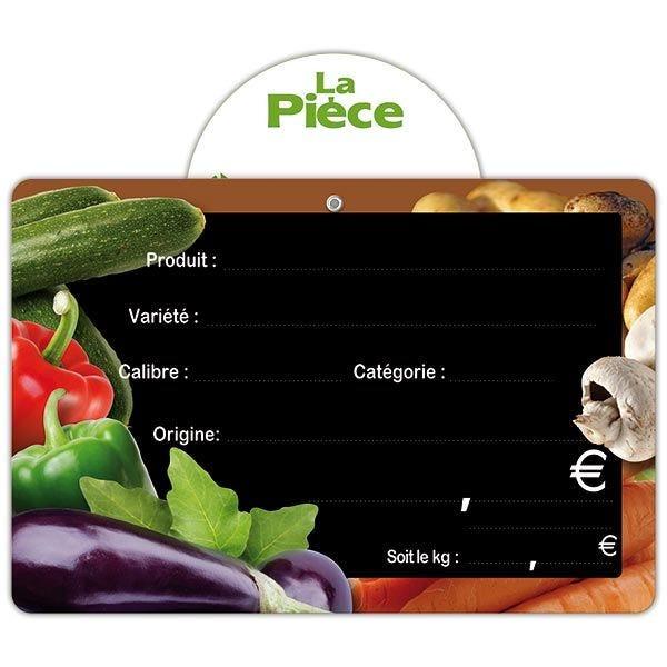 Etiquette panière vitaminée vocc 15 x 10 cm - par 50 (photo)