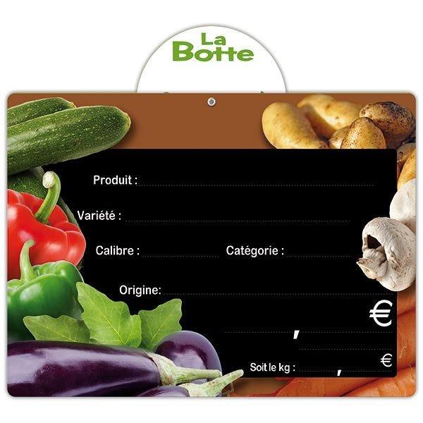 Etiquette panière vitaminée vocc 20 x 15 cm - par 50 (photo)