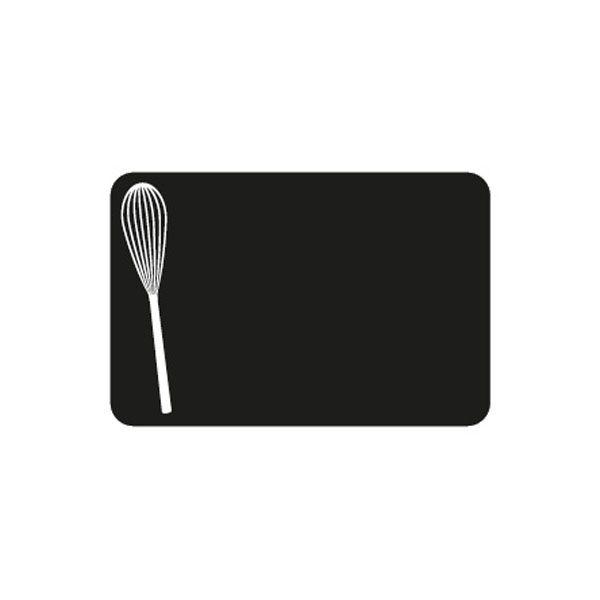 Etiquettes etal délice fouet 10x7cm - par 50