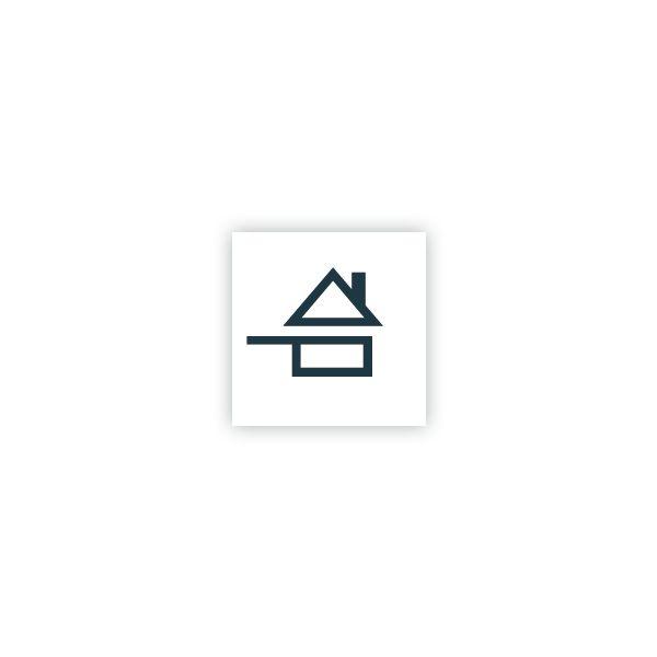 Adhésif ''fait maison'' repositionnable 3 x 3 cm - par 280 (photo)