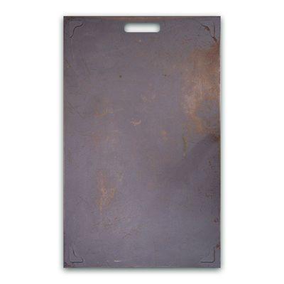 Panneau industrie impression métal r/v avec poignée 50x80 cm (photo)