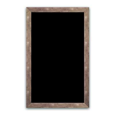 Ardoise noire vierge argent 50x80 cm (photo)